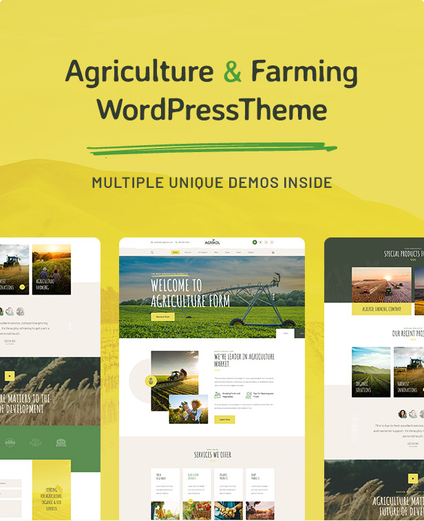 Agrikole | Responsive WordPress Theme for Agriculture & Farming - 5