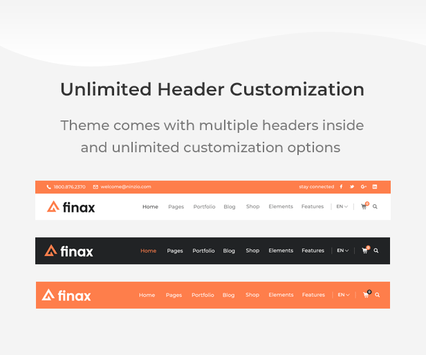 Finax | Responsive Business Consulting WordPress Theme - 11
