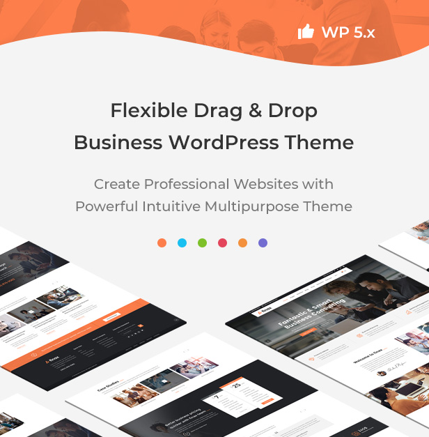 Finax | Responsive Business Consulting WordPress Theme - 5