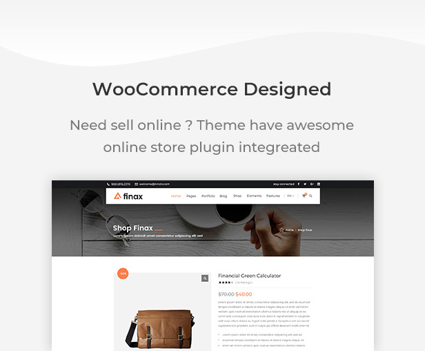 Finax | Responsive Business Consulting WordPress Theme - 9