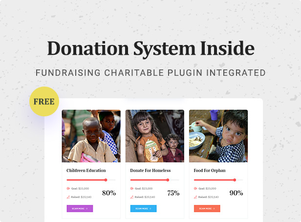 Nusafe | Responsive WordPress Theme for Donation & Charity - 6