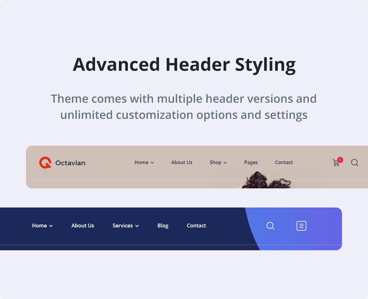 Octavian | Creative Multipurpose WordPress Theme - 7