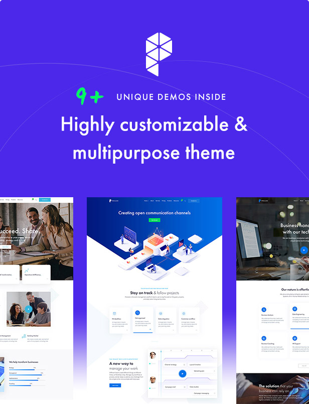 Prelude - Creative Multipurpose WordPress Theme - 4