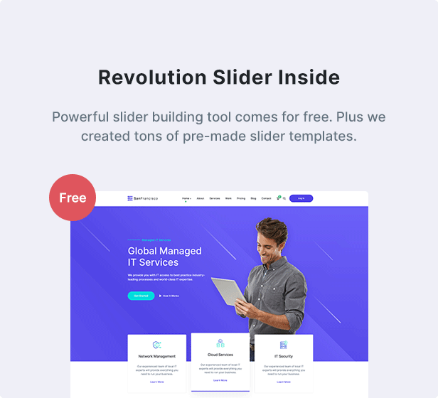 San Francisco - IT Technology and Creative WordPress Theme - 6