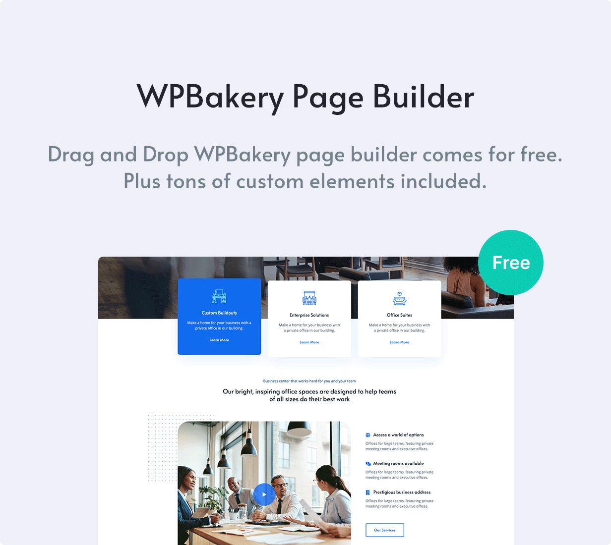 Worksquare - Coworking and Office Space WordPress Theme - 7